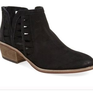 Vince Camuto Peera booties with cutouts 7