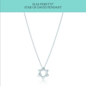 Tiffany & Co. Jewish star necklace