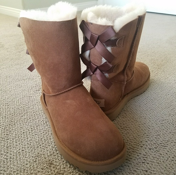 3dda27682bd 🎁UGG Bailey Bow II Boots BRAND NEW IN BOX NWT