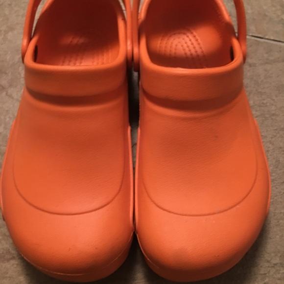 a348f32a54bb CROCS Other - Men s Orange Croc Clog Mario Batali Edition