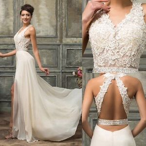 Wedding dress, never worn, just tried on