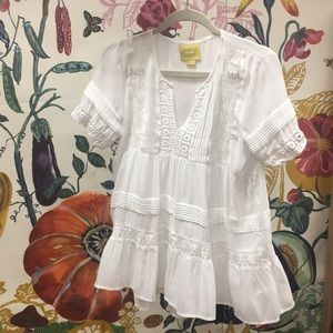 BEAUTIFUL short sleeve top from Anthropologie