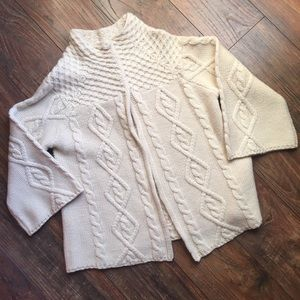 Alice and Olivia cashmere blend ivory sweater