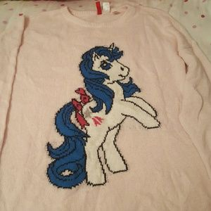 H&M divided My Little Pony Sweater