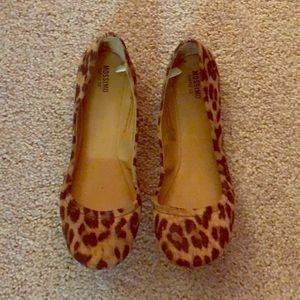 Leopard Mossimo Flats