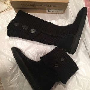 Ugg Sweater Boots & box.