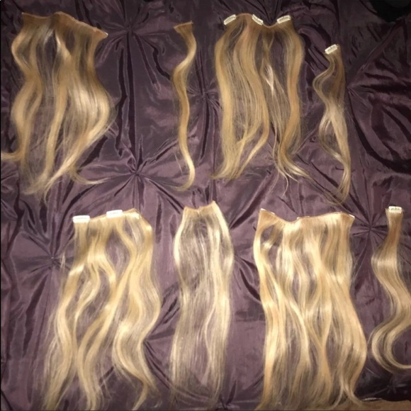 Accessories Blonde Hair Extensions Poshmark