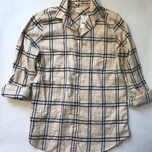 J Cree Flannel Shirt in Boy Fit