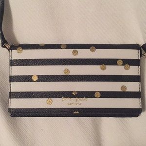 iPhone case/wallet with detachable strap