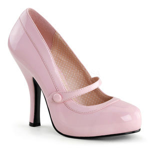 Mary Jane Pin Up High Heel Shoes Platform Pink