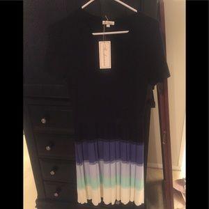 Shoshanna sweater dress.