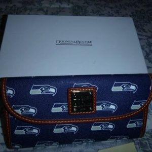 Dooney & Bourke Seattle Seahawks Wallet