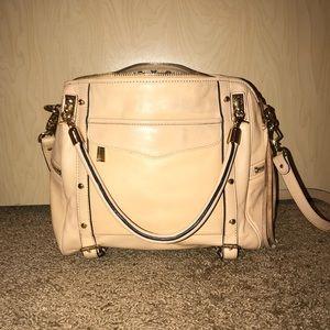 Rebecca Minkoff Tan Cupid Satchel Handbag