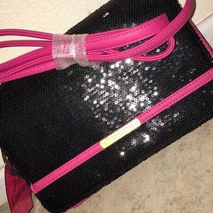 Brand new black and pink Juicy Couture bag