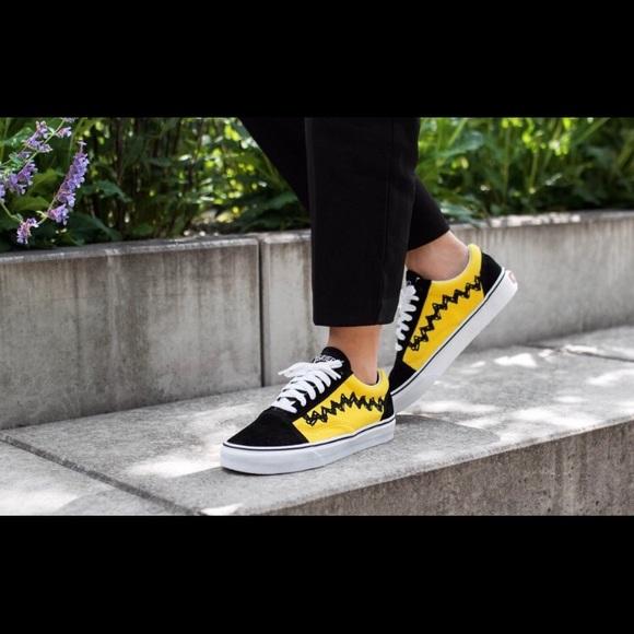 Vans Old Skool Peanuts Charlie Brown Skate Shoe