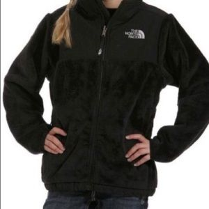 Size 10 black north face jacket