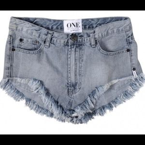 One teaspoon rollers shorts!!!