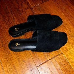 NWOT H&M slide sandals