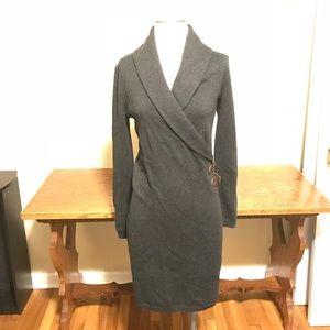 Ralph Lauren cashmere blend sweater dress