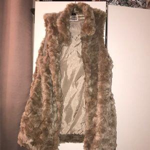 F21 Fur Vest