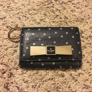 Kate Spade polka dots small wallet