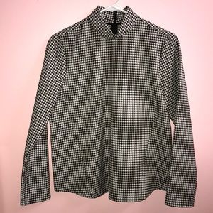 Houndstooth Top brand new never worn