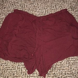 brandy melville classic high waisted shorts