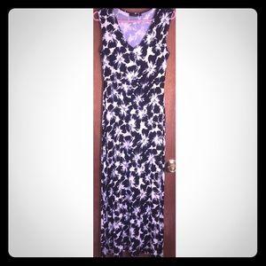 Apt. 9 Long Soft Black and White Maxi Dress