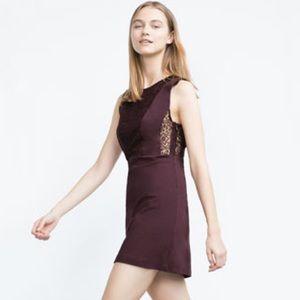 NWT Zara dress with Lace detail