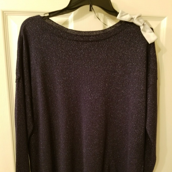 50% off LC Lauren Conrad Sweaters - Sparkly Blue Sweater NWOT from ...