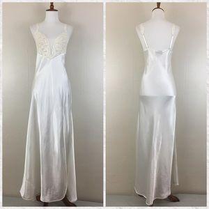 Vintage 80's Victoria's Secret Maxi Night Gown