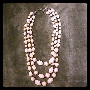 Rose pink necklace