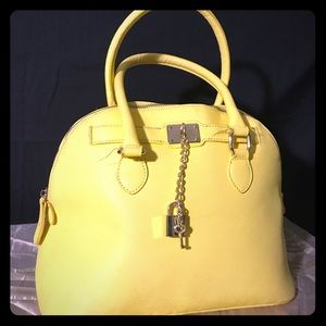 Aldo yellow purse