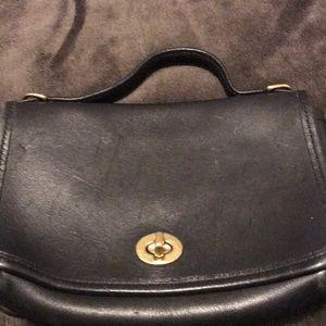 Coach leather clutch