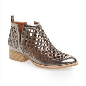 """Jeffrey Campbell """"Taggart"""" cut out booties"""