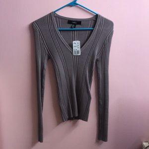Forever 21 Sweaters - Purple rib sweater