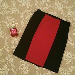 New Worthington COLORBLOCK pencil skirt
