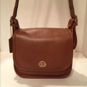 Authentic Classic Coach Trail Bag