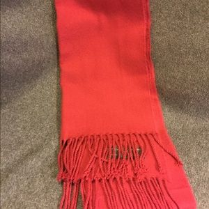 Gorgeous winter scarf in light mulberry color