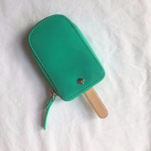 NWOT Kate Spade Aqua Popsicle Coin Purse