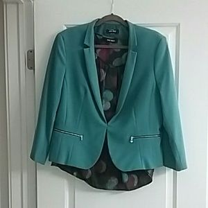 Nine West teale blazer size 16 and blouse XL