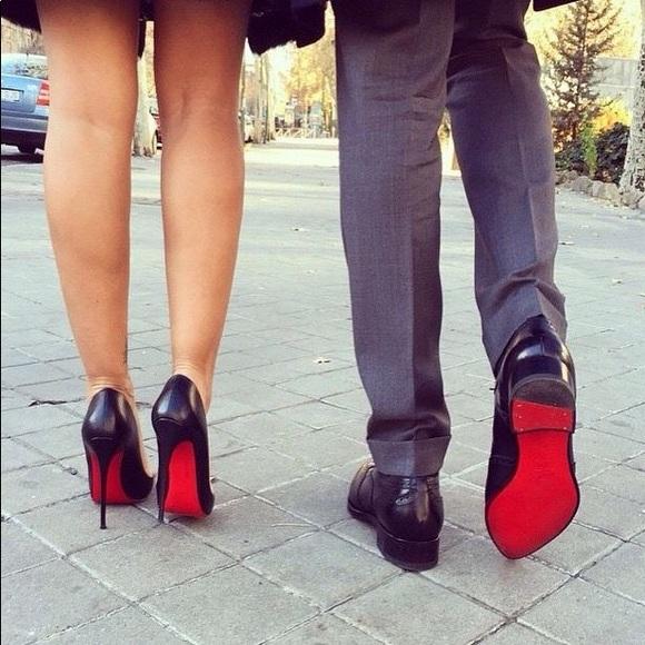 5fbf3142f0b Steve Madden Red Bottom Black Heels. M 5a2e0dd678b31ce63002b5f6
