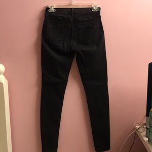 Topshop Jeans - Topshop embo jeans