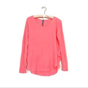 Free people for urban outfitters hot pink tee