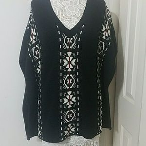 Embroidered Poncho