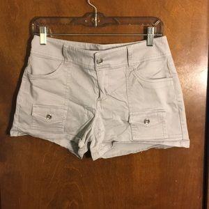 """NY&Co Gray Shorts 4"""""""