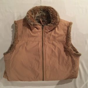 GAP Reversable Fur Vest