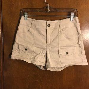 """NY&Co khaki shorts 4"""""""