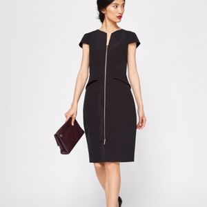 TED BAKER LONDON Fearnid Zip-Front Dress