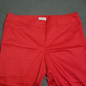 LOFT red trousers